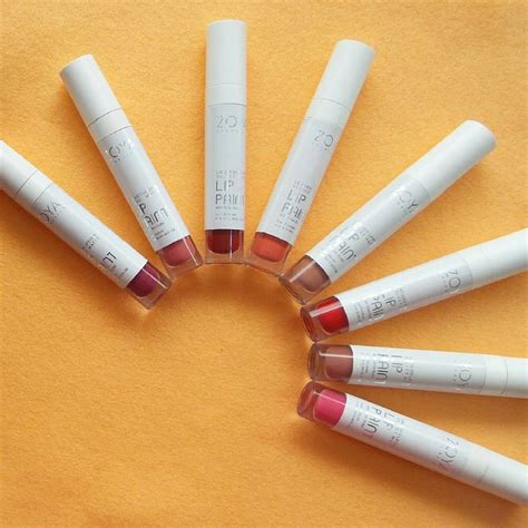 Lipstik Zoya Lip Paint review zoya lip paint lacquer lipstick velvet matte