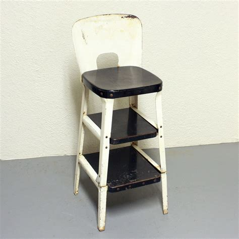 vintage kitchen stools with steps vintage stool step stool kitchen stool chair pull out