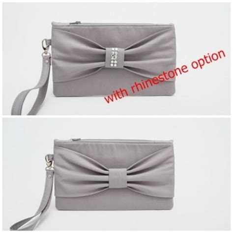 Sale Clutch 2 promotional sale bridesmaid clutches bow wristelt clutch bridesmaid gift wedding gift grey