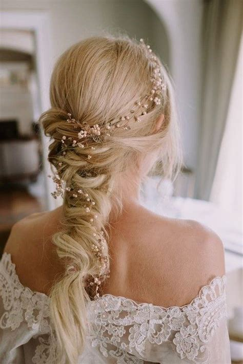 vine braid braided hairstyle for 35 stunning bridal hair vine ideas happywedd