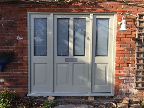 Glazed Front Doors Accoya Timber Painted Front Door