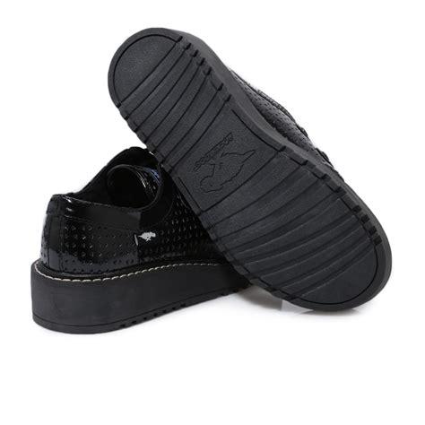 brogan shoes rocket brogan patent leather womens black creepers