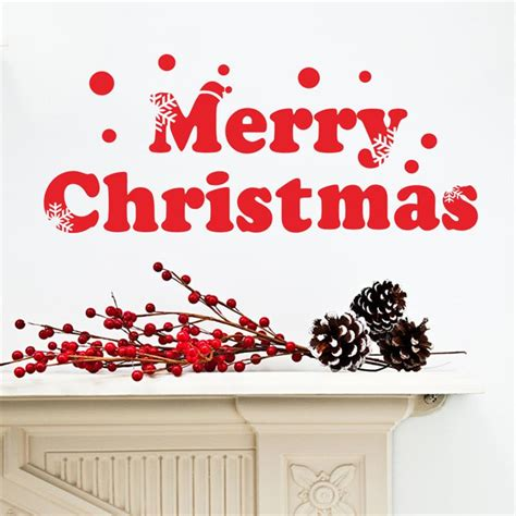merry christmas window glass decals xmas home decoration wall stickers poster happy  year