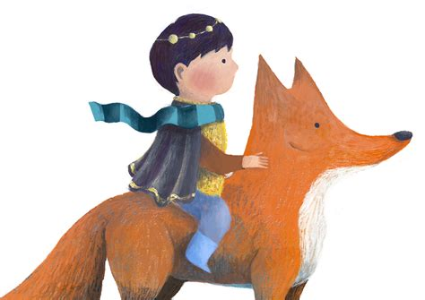a and his boy a boy and his fox on behance