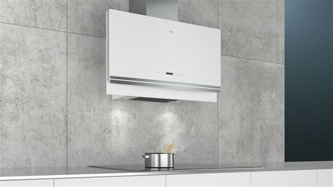 Siemens LC97FVW20B White Flat Extractor Hood