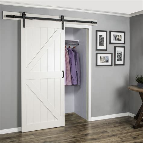 white barn door affordable premade barn doors home stories a to z