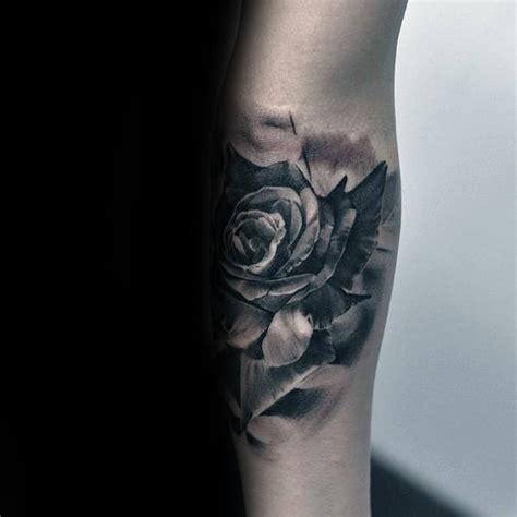 masculine rose tattoo 100 underarm 1000 geometric forearm