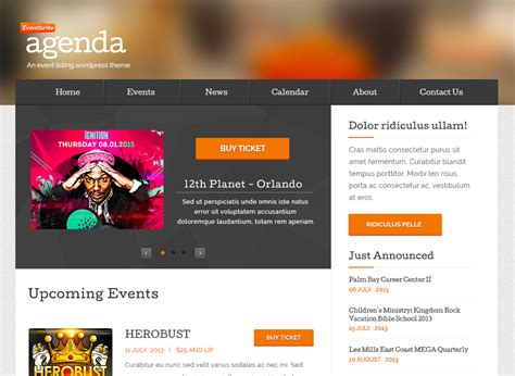 themes download cm eventbrite event wordpress theme free download beau