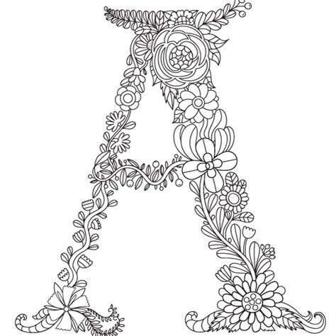 Letter C Coloring Pages For Adults by Letter A Coloring Pages For Adults Coloring Page Cvdlipids