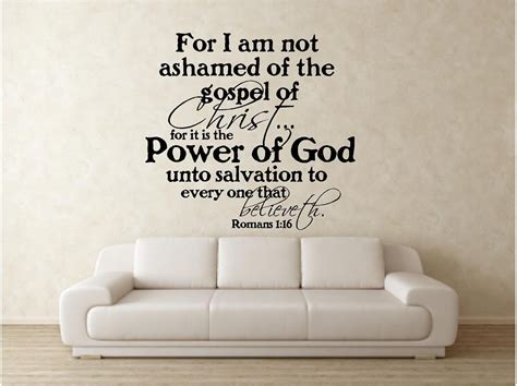 Wall Stickers Bible Verses Scripture Vinyl Wall Decal For I Am Not By Vinylartstudio