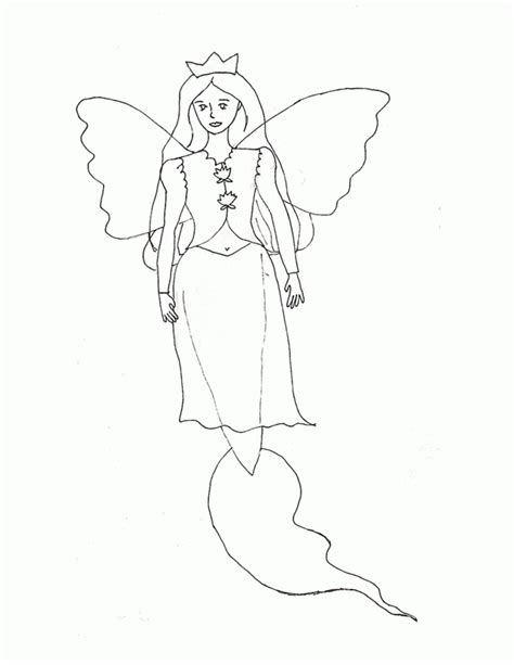 pictures of mermaids and fairies kids coloring