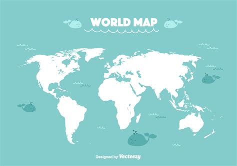 free vector map world map vector free vector stock