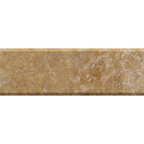 walnut dark honed filled threshold travertine thresholds 4x36 country floors of america llc