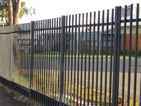 security metal fencing satelite fencing melbourne