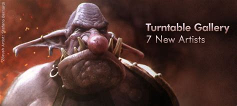 zbrush turntable tutorial pixologic zbrush blog 187 turntable gallery updates 7 new