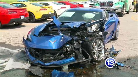 corvette zs wrecked  hyundai driver  seizure