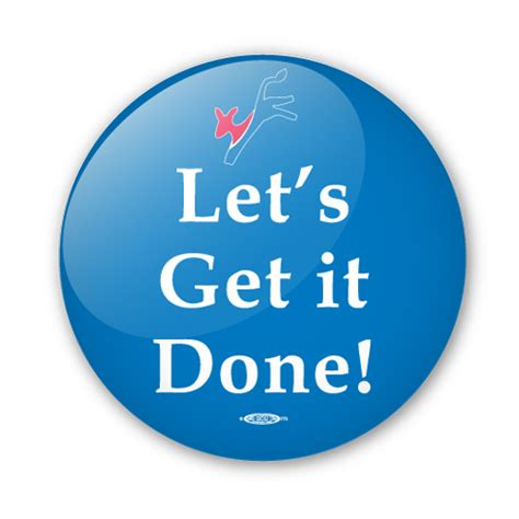 Get Done 1 lets get it done clipart