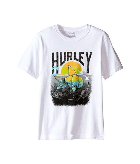 Hurley White Tees hurley s t shirts stylish comfort clothing