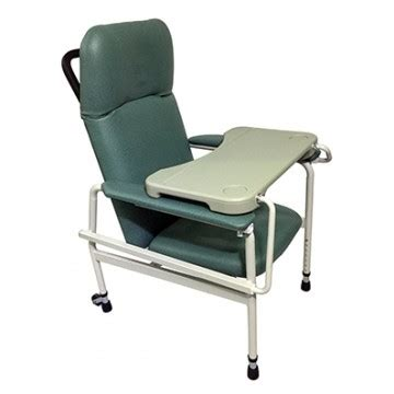 hospital chair recliner manual mobile recliner geriatric chair with tray