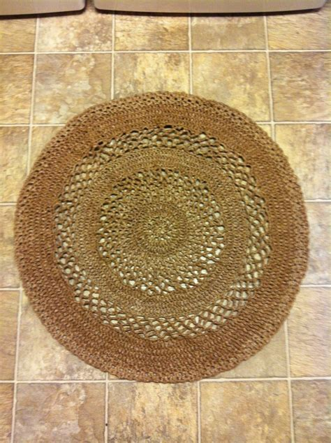 crochet plastic bags rug pattern 17 best images about how to make plastic bag rugs on the end grocery bags and the two