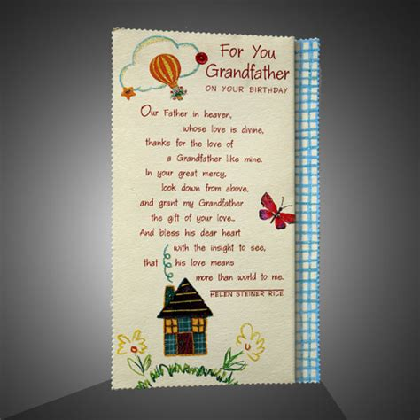 Birthday Greeting Cards For Grandfather Warm Birthday Greetings For Grandpa Giftsmate