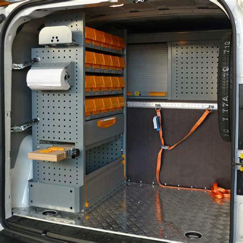 scaffali per furgoni fai da te allestimenti furgoni opel veicoli commerciali store