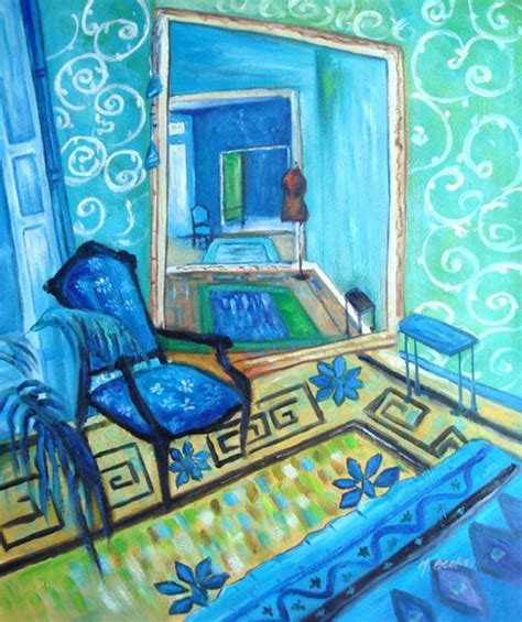the blue room painting paintings frames