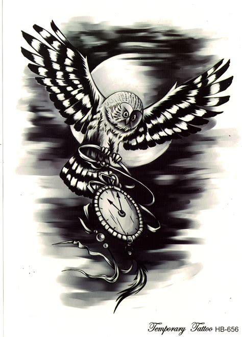 henna tattoo zeit suribella t823 temporary einmal eule vogel nacht