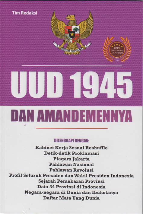 Dilan 1990 By Teladan Book Store buku uud 1945 dan tim redaksi mizanstore