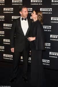 Calendar Pirelli 2016 Buy It Geri Halliwell With Husband Christian Horner At The 2016