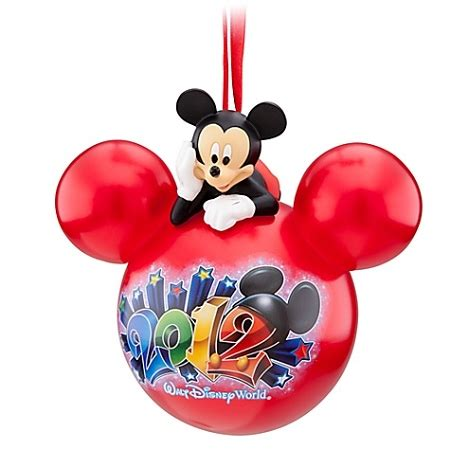 disney christmas ornament 2012 walt disney world mickey