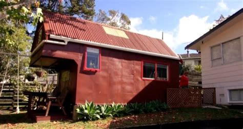 rent a tiny house for vacation woman uses tiny home in her backyard as vacation rental