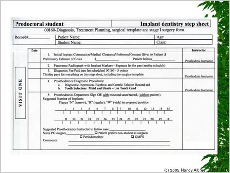 Chiropractic Intake Form Templates Form Resume Exles K8l11wolm6 Dental Treatment Estimate Template