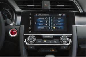 audio and connectivity overview for 2016 honda civic sedan