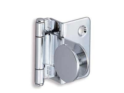 Stainless Steel Glass Door Hinges Gh 34 8 S Half Overlay Glass Door Hinge Stainless Steel Alema Hardware