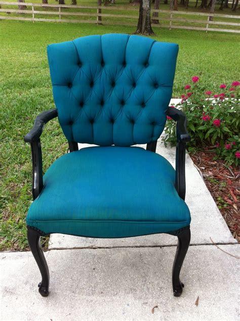 diy upholstery chair pinterest addict tulip fabric spray paint chair