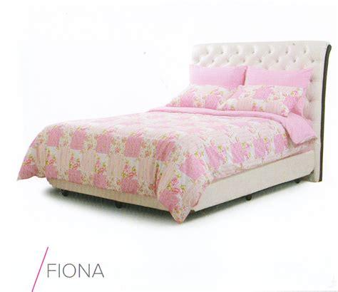 jual sprei murah motif fiona pink spreishop spreishop