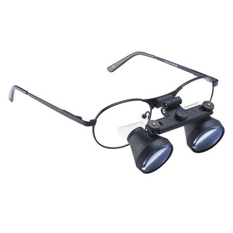 craftoptics 2x telescopes with 1 5 reading bifocals black