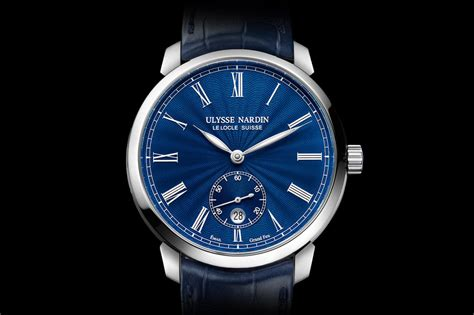 Jam Tangan Mewah Ulysse Nardin Escapement swiss made ulysse nardin classico manufacture blue