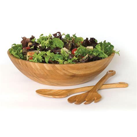 Salad Bowl lipper international 3 wood salad bowl set shop