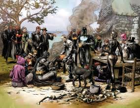 dark history of thanksgiving does the new batman eternal teaser reveal nightwing s