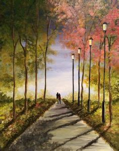 paint nite foxboro waterfall sniffin paint nite whole canvas is