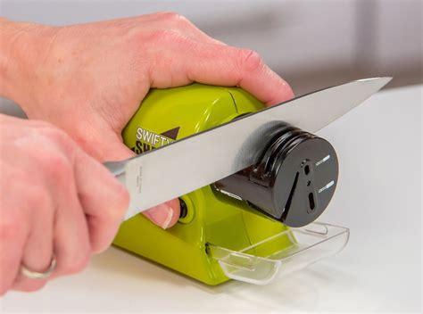 swifty sharp electric sharpener pengasah pisau elektrik green jakartanotebook