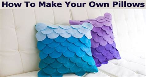 how to make your own pillows pictures photos and images