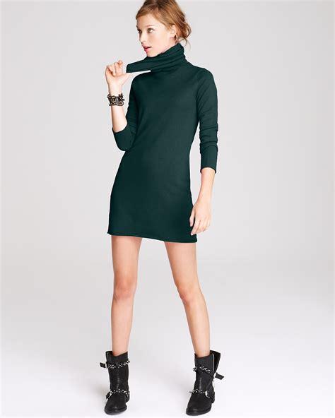 Turtleneck Sleeve Dress turtleneck dress dressed up