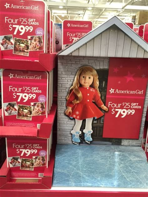 American Girl Gift Card Costco - discount american girl gift cards at costco