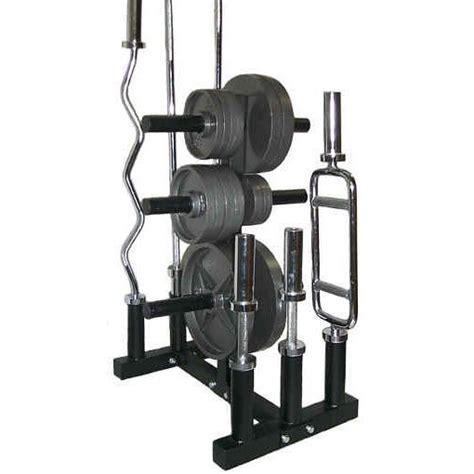 Weight Tree Rack by Olympic Heavy Duty Weight Bar Tree Rack Holder Storage Ebay
