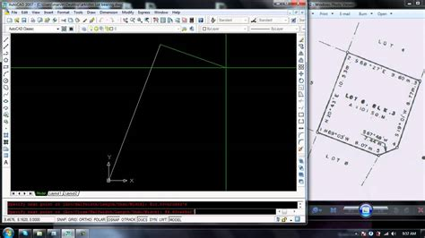 autocad 2012 tutorial how to plot a drawing layout youtube how to plot lot bearing in autocad youtube