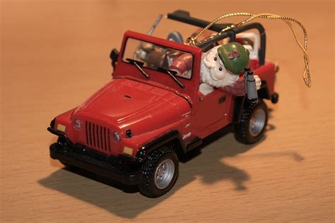 Jeep Wrangler Ornament Enesco Jeep Wrangler Tree Ornament By Fortfan