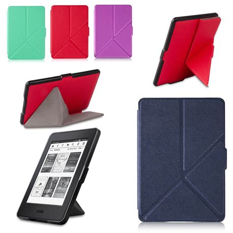 Origami Kindle - textured origami stand cover for kindle paperwhite